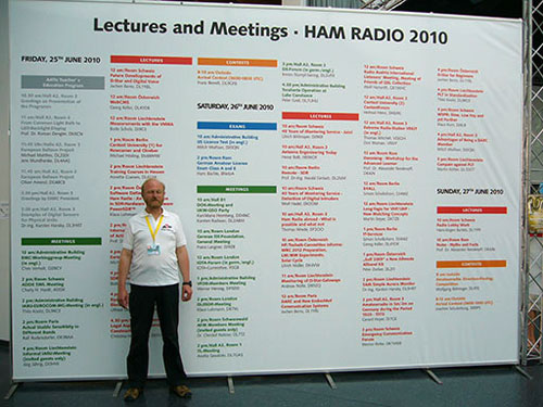 Lectures at the Ham Radio 2010