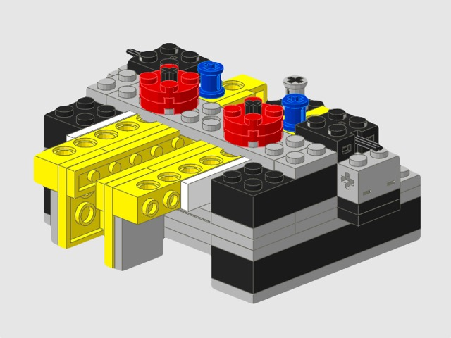 LEGO® Iambic-Keyer (Version 2 nach M0HSW)