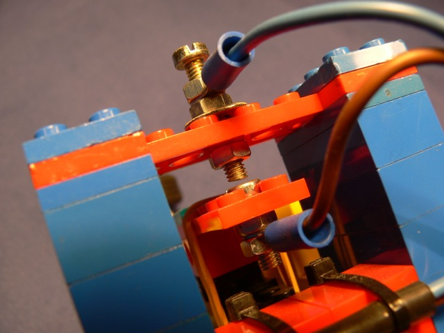 LEGO® straight key (by OH6DC) Detailansicht